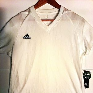Adidas Women's Climacool Shirt White Large NWT